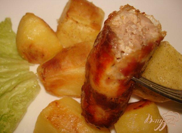 Рецепт Колбаски домашние рубленые