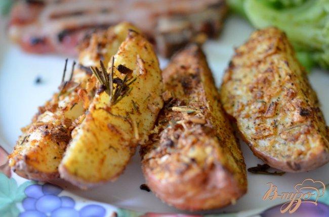 Фото приготовление рецепта: Лучшие картофельные дольки шаг №4
