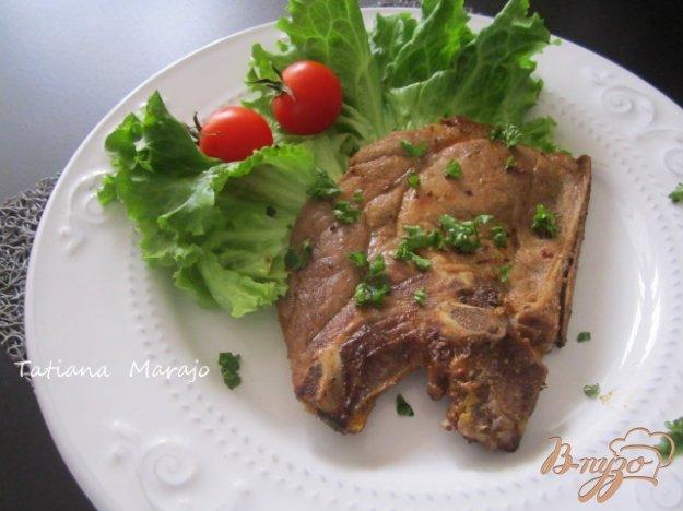 Рецепт Свинной антрекот в апельсиновом маринаде