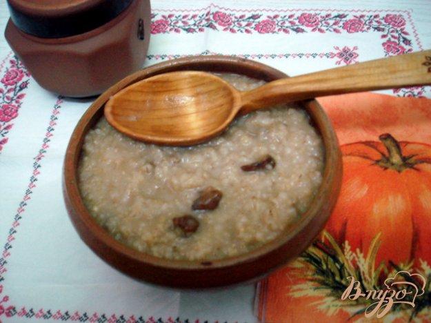 Рецепт Ячневая каша с грибами
