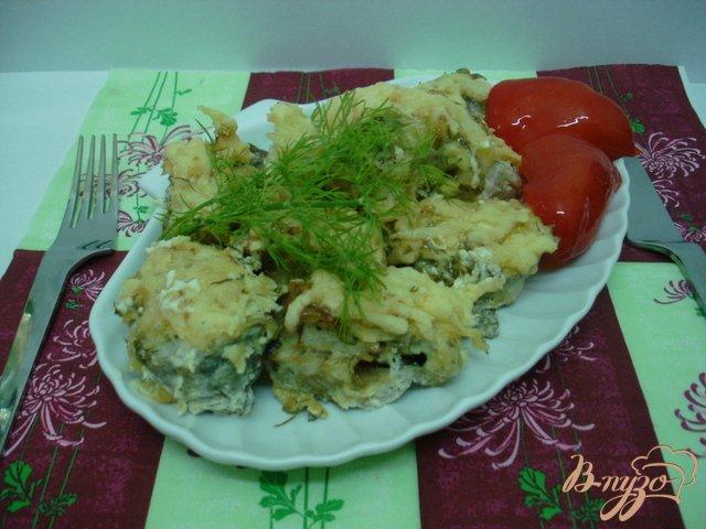 Фото приготовление рецепта: Рыба под майонезом шаг №6