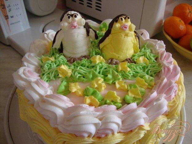 Рецепт Торт *пингвинчики*.