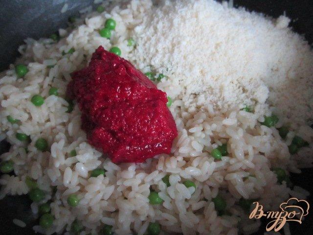 Фото приготовление рецепта: Цветной гарнир шаг №3