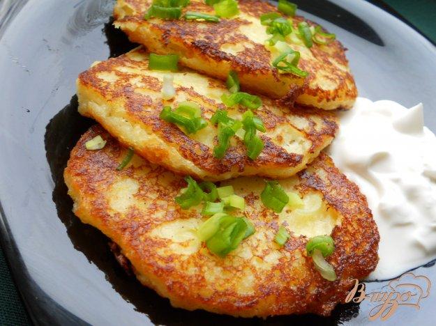 Рецепт Оладьи из картофеля с сыром