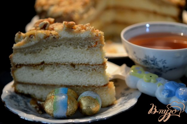 Рецепт Простой карамельный торт