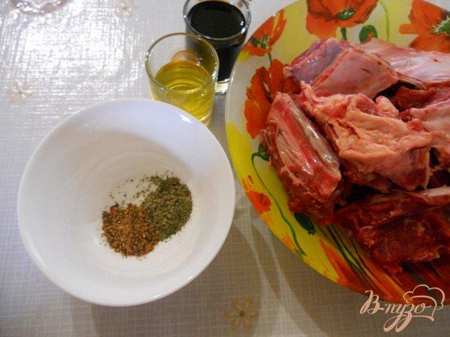 Фото приготовление рецепта: Говяжьи ребрышки шаг №1