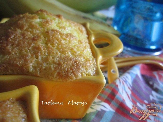 Фото приготовление рецепта: Десертная запеканка с бананами шаг №8