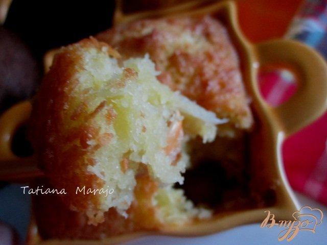 Фото приготовление рецепта: Десертная запеканка с бананами шаг №10