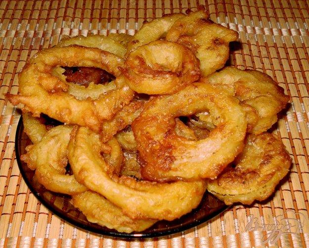 Рецепт Жареные луковые кольца