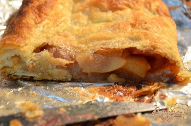 Рецепт Яблочный штрудель с корицей