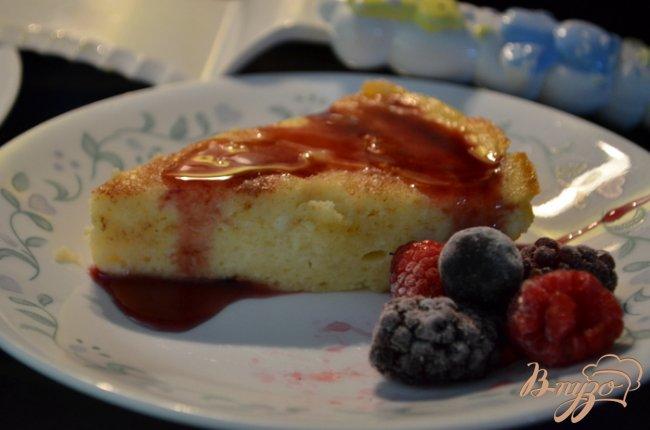 Фото приготовление рецепта: Итальянский чизкейк из рикотты шаг №5