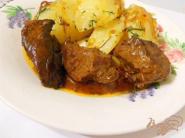 фото рецепта: Говядина в цитрусовом маринаде