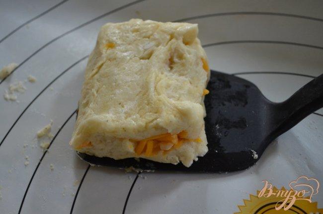 Фото приготовление рецепта: Картофельные сконы шаг №8