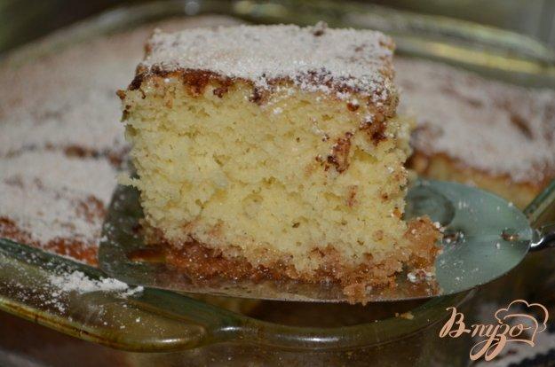 Рецепт Кофейный кекс с корицей