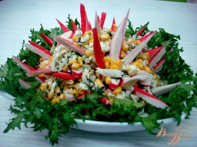 Фото приготовление рецепта: Салат из пекинской капусты шаг №6