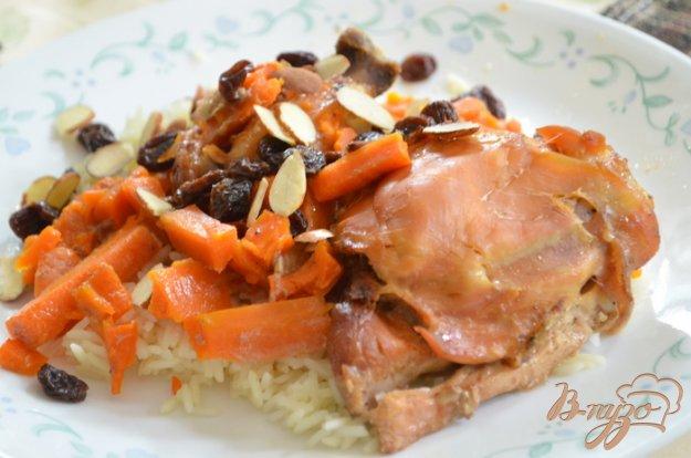 Рецепт Куриные бедрышки по-мароккански