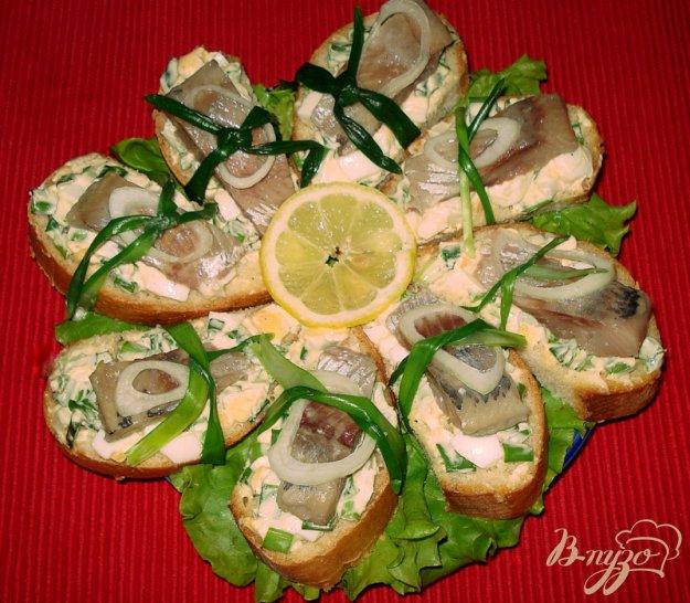 Рецепт Бутерброд из сельди