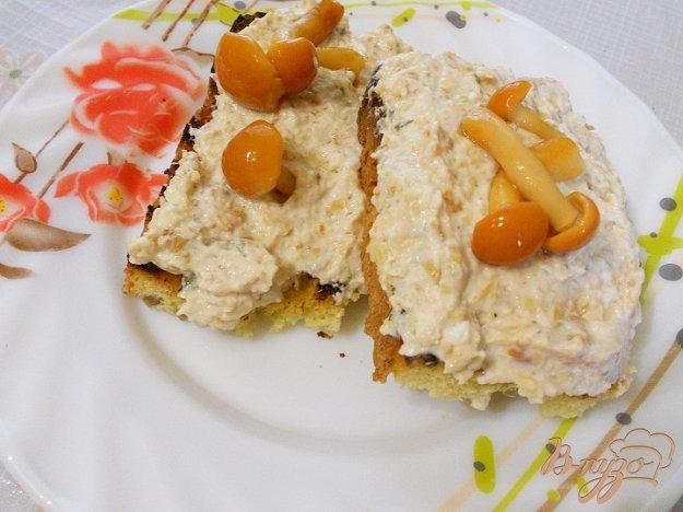 Рецепт Сырно - грибной паштет