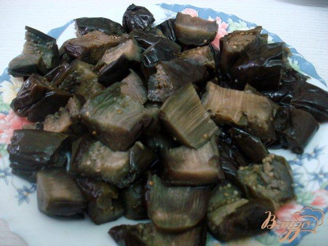 Фото приготовление рецепта: Баклажаны в сметанном соусе шаг №4