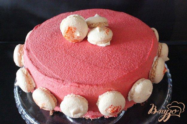 Рецепт Шоколадно-брусничный торт.