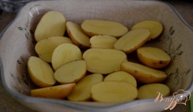 Фото приготовление рецепта: Картофель с лимонно-чесночным вкусом шаг №1