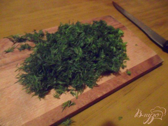 Фото приготовление рецепта: Лепешки из манки с брынзой шаг №2