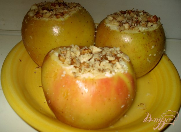 Яблука в мікрохвильовці. Як приготувати з фото