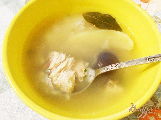Фото приготовление рецепта: Рыбный суп из толстолоба шаг №5