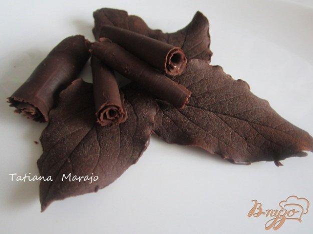 Рецепт Украшения из шоколада