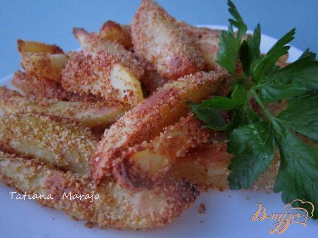 Рецепт Хрустящие картофельные дольки