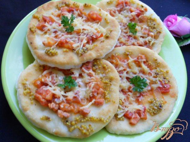 Рецепт Фантазия на тему «Пицца»