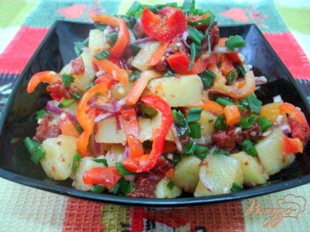 Рецепт Картофельный салат с вялеными помидорами