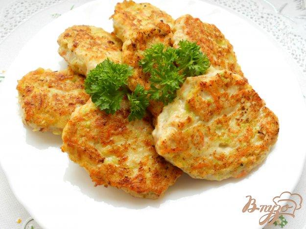 Рецепт Оладьи из курицы и овощей