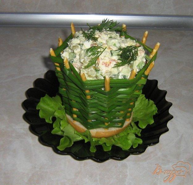Рецепт Луковые корзинки для салатов