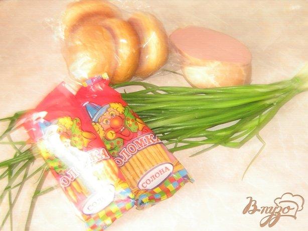 Фото приготовление рецепта: Луковые корзинки для салатов шаг №1