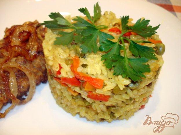 Рецепт Рис карри с овощами