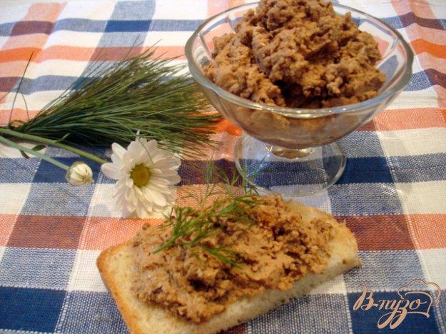 Рецепт Паштет яично - ореховый