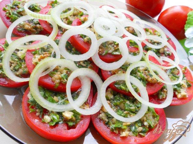 Рецепт Закуска из помидоров по-тбилисски