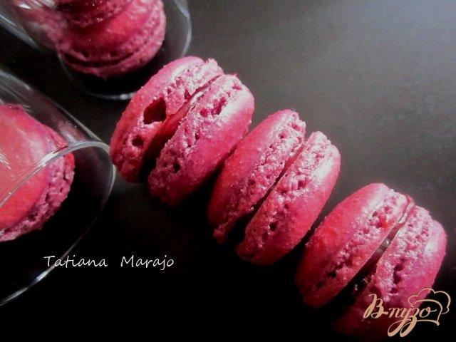 Фото приготовление рецепта: Смородиновые макарон шаг №9