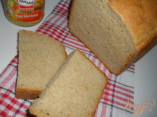 Рецепт Горчичный хлеб в хлебопечке