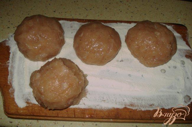 Фото приготовление рецепта: Бризоль шаг №2