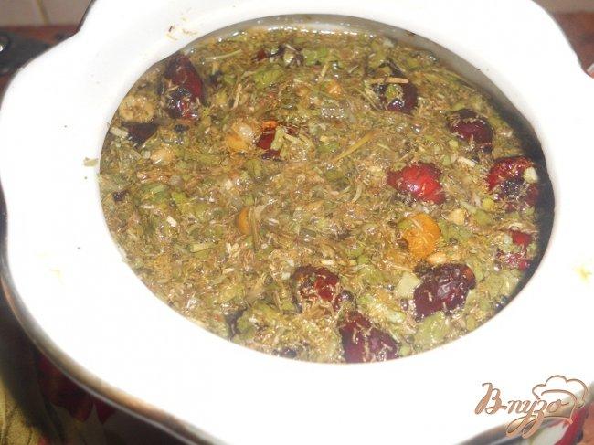 Фото приготовление рецепта: Травянной чай шаг №4