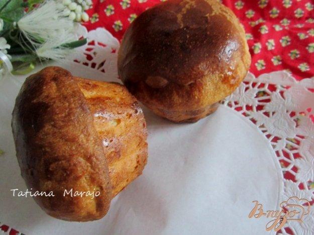Рецепт Мини-бриоши с вишнями к завтраку