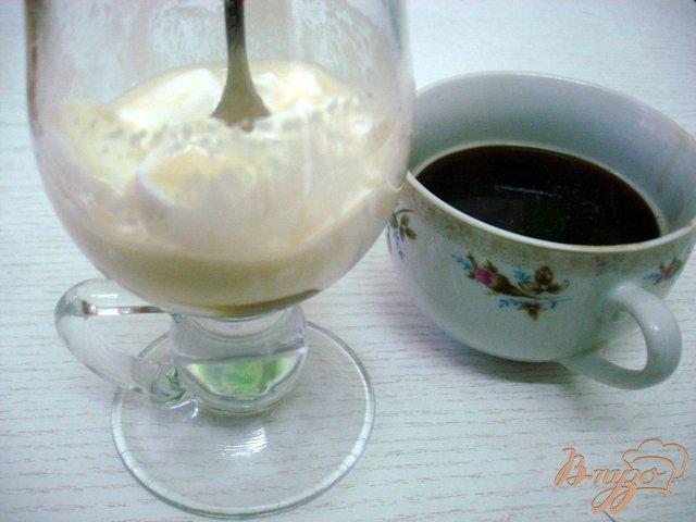 Фото приготовление рецепта: Кофе гляссе шаг №4