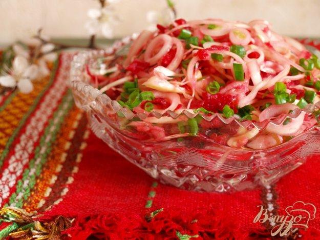 Рецепт Фитнес-салат с яблоком и свеклой