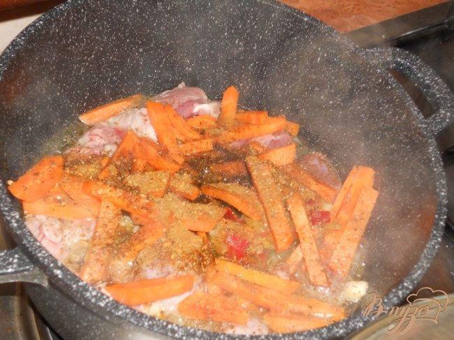 Фото приготовление рецепта: Овощное рагу с мясом шаг №1