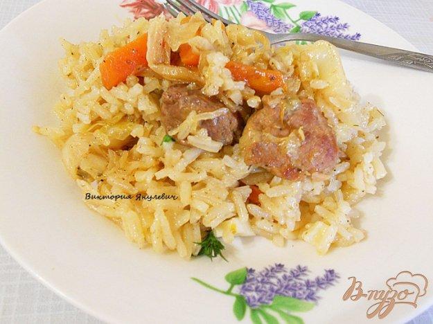 фото рецепта: Овощное рагу с мясом