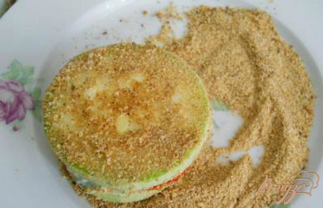 Фото приготовление рецепта: Сэндвичи из кабачков шаг №3