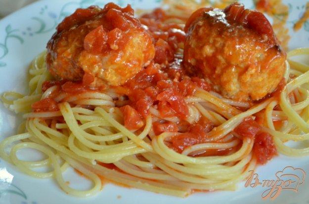 фото рецепта: Куриные фрикадельки в томатном соусе