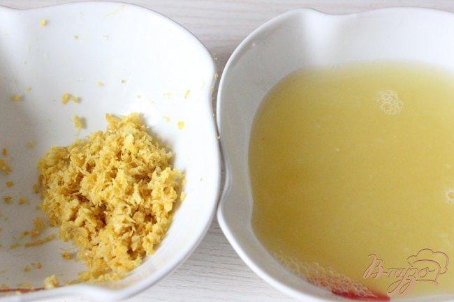 Фото приготовление рецепта: Нежный лимонный торт шаг №10